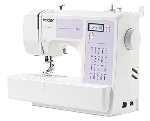 Brother FS20 Computer-Nähmaschine mit 32 Nähprogramme, Automatisches Nähen, Freiarm, Multifunktionsdisplay